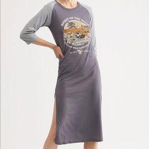 Sprit of wilderness organic tee dress LARGE